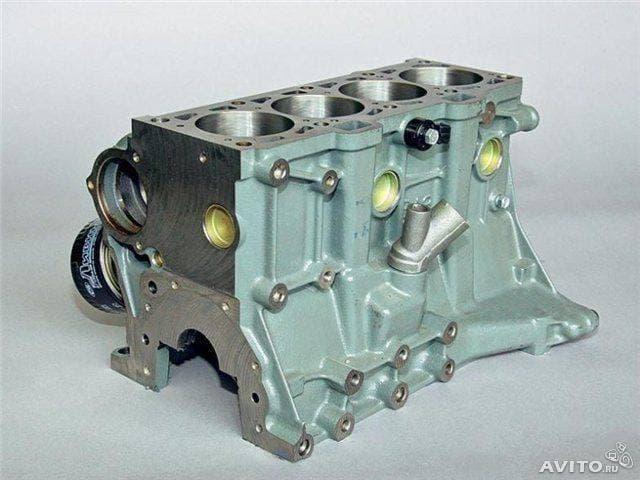 Блок двигатель ваз 2112